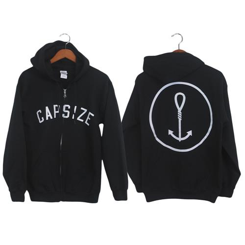 Noose Anchor Black Zip-Up