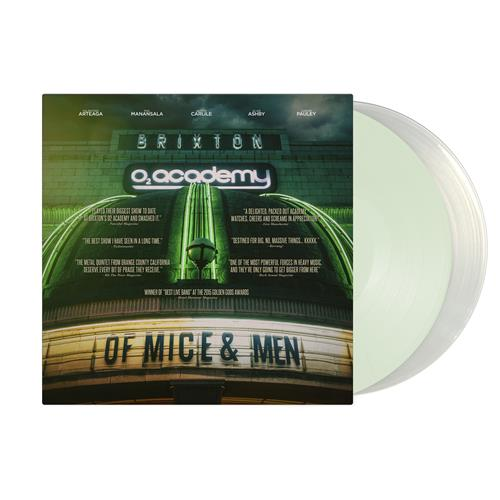 Live At Brixton Coke Bottle Green/Milky Clear Vinyl 2xLP/DVD