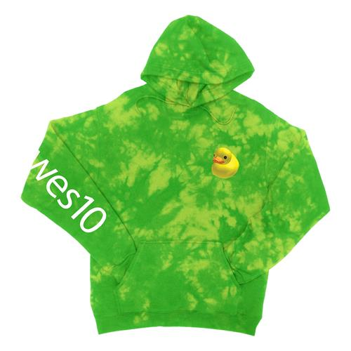 Duck Wes10 Green/Yellow Custom Dyed