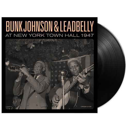Bunk & Leadbelly At New York Town Hall 1947 Black  2Xlp