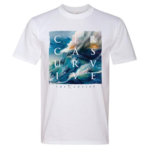 Ocean Waves White