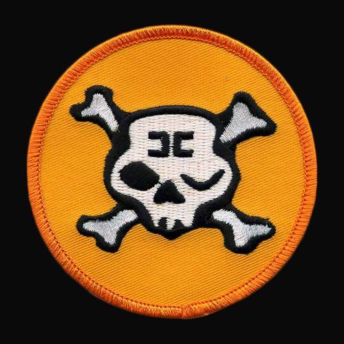 Winking Skull Orange