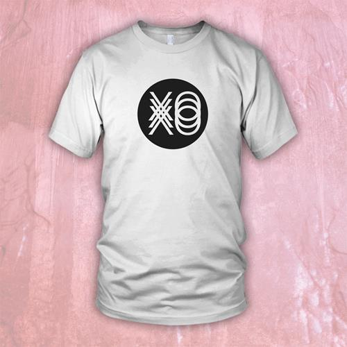 Circle Logo White T-Shirt