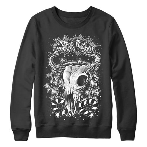 Holiday Skull Crewneck