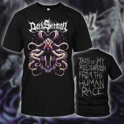 *Limited Stock* The Sacrifice (Octopus) Black T-Shirt
