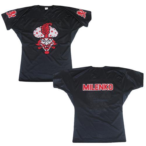 Milenko Black Football Jersey