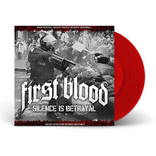 Silence Is Betrayal Red LP