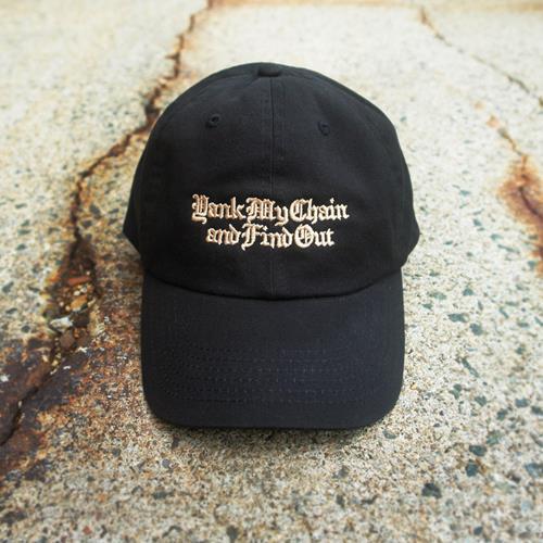 Yank My Chain Black Dad Hat