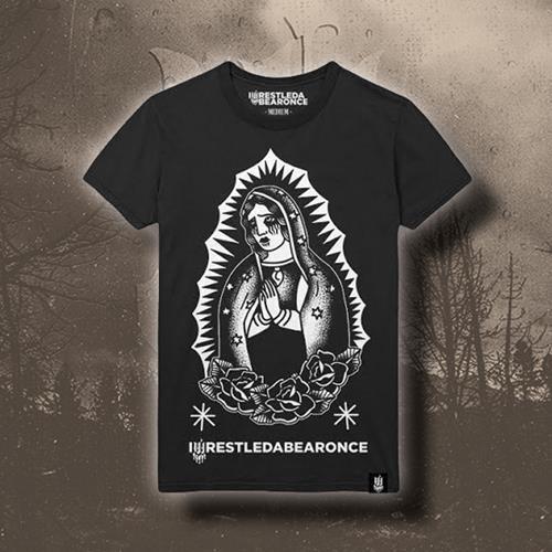 Hail Mary Candle Black T-Shirt