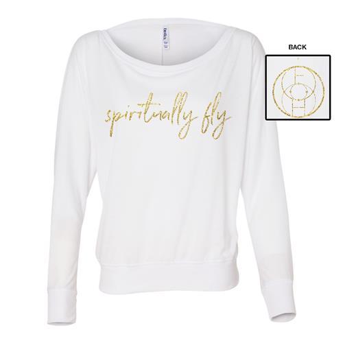 Spiritually Fly Ladies White Flowy