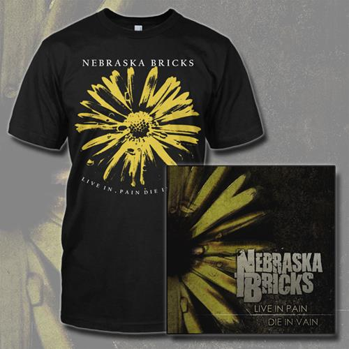 Nebraska Bricks CD+T-Shirt : EULR : MerchNOW - Your Favorite Band