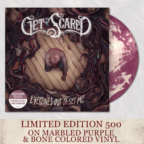 Get Scared Purple/Bone Marble Vinyl LP