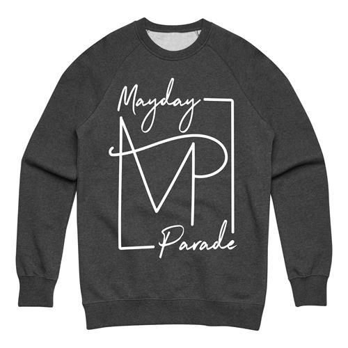Monogram Carbon Crewneck