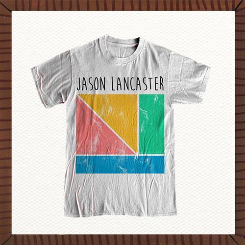 Shapes White T-Shirt *Final Print!*