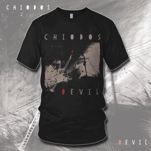 Devil Album Art Black T-Shirt