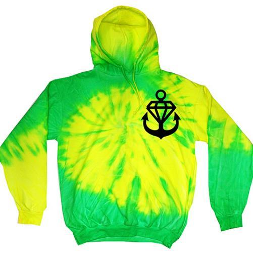 SLiMESQUAD Anchor Tie Dye