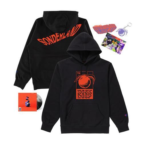 Welcome To Sonderland Hoodie CD Bundle