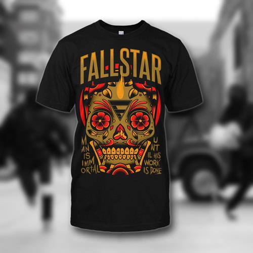 Immortal Skull Black T-Shirt *Final Print* Final Print! $7 Sale