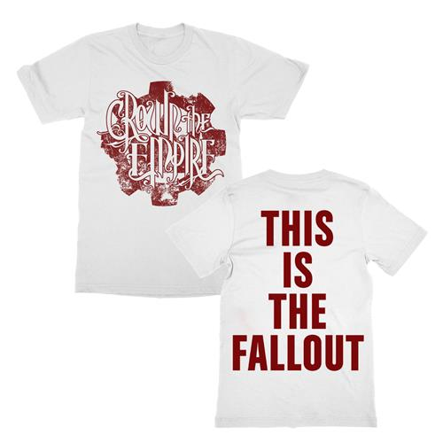 Fallout Cog White  Extra Small