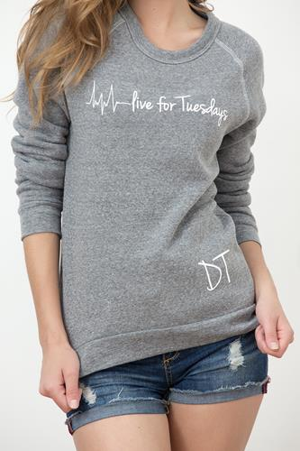Live For Tuesday Slouchy Eco Pullover