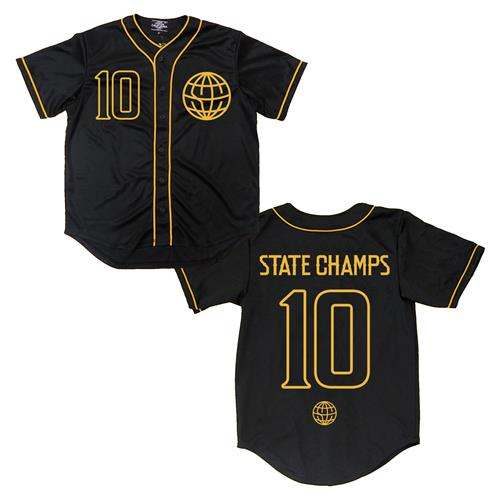best service 23820 6ab81 black and gold baseball jersey