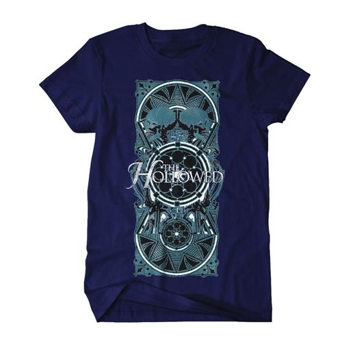 Skulls Navy Blue *Sale! Final Print!*
