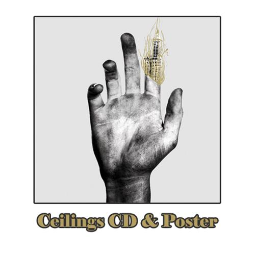 Alive In Wild Paint Ceilings CD/Poster