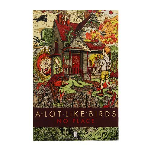 A Lot Like Birds - No Place Poster