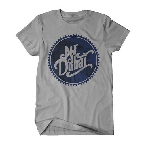Ribbon Logo Slate T-Shirt