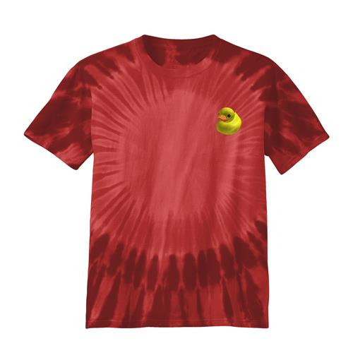 Summer Duck Red Tie Dye