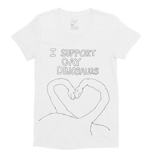 I Support Gay Dinosaurs