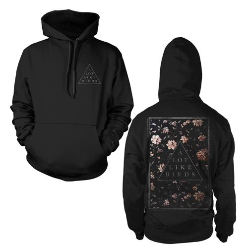 Floral Triangle Black