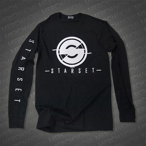 Logo Black Longsleeve Shirt