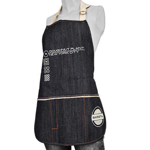 Logo Denim Apron