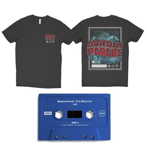It Is What It Is Blue Cassette/Tee/Digital