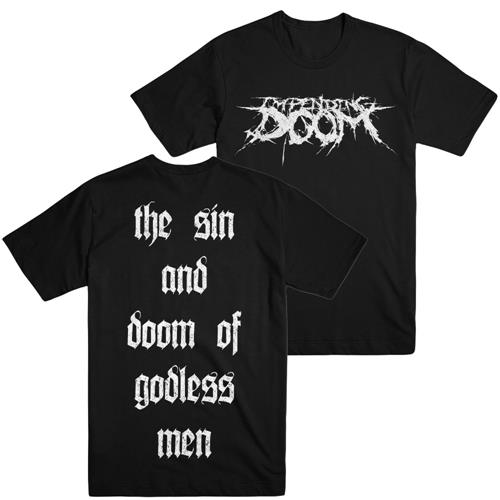 The Sin And Doom Of Godless Men Black