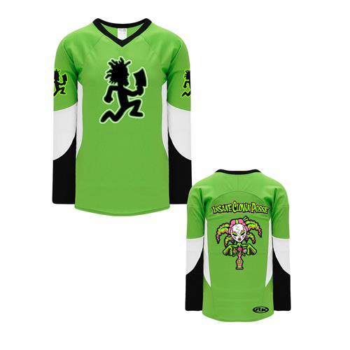 Yum Yum Hatchetman Green/White/Black Hockey