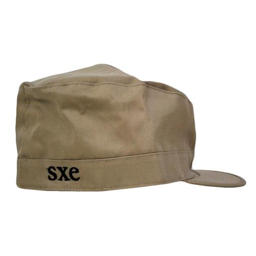 Embroidered SXE Tan (7 1/2)