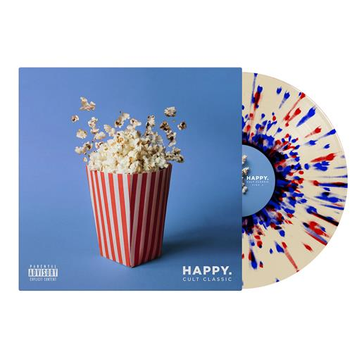 Happy Cult Classic Clear w/ Red & Blue