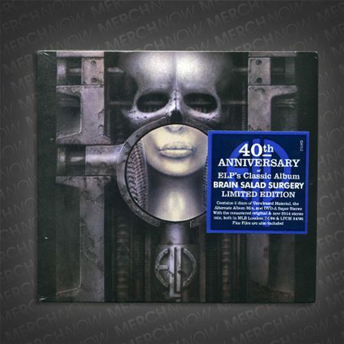 Brain Salad Surgery 40th Anniversary CD/DVD