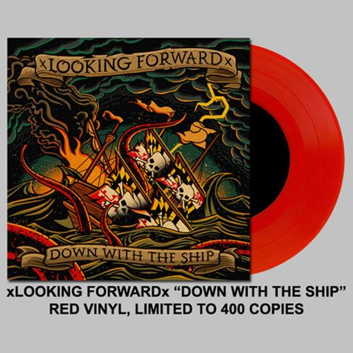 Down With The Ship - Red 7 Inch
