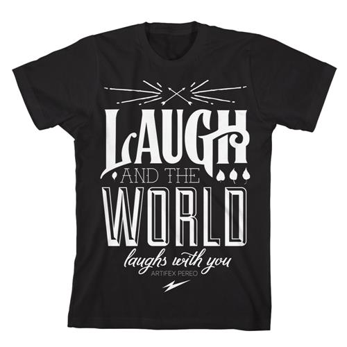 Laugh And The World Laughs Black