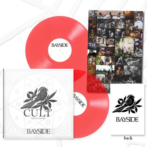 Cult White Edition Trans Red Double LP