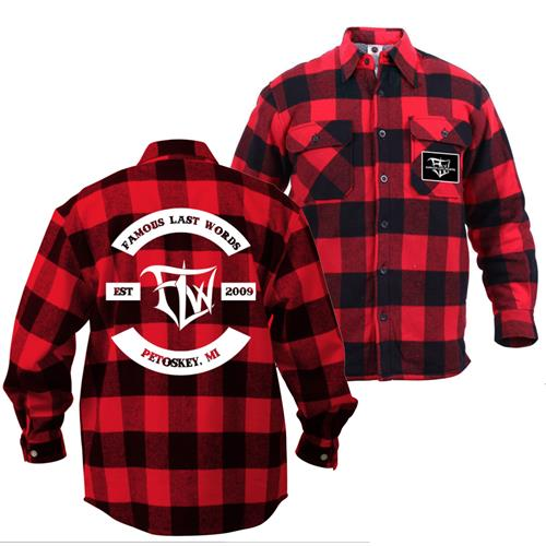 Est. 2009 Petoskey, MI Red/Black Flannel