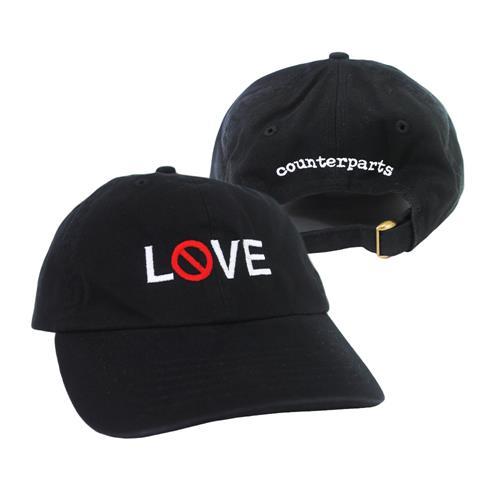 Love Black Dad Hat
