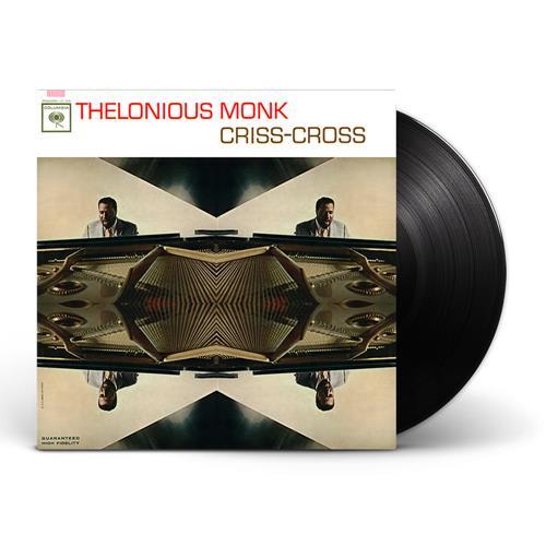 Criss-Cross Black Vinyl LP