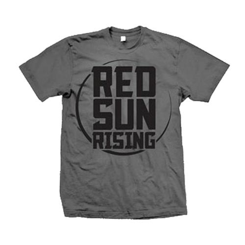Red Sun Rising Charcoal T-Shirt