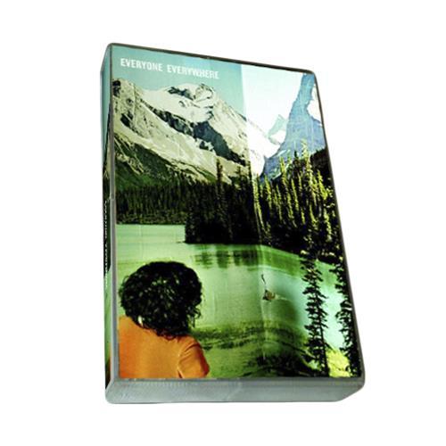 S/T White W/ Black Print Cassette