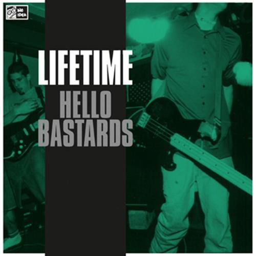 Hello Bastards Clear Green LP Vinyl