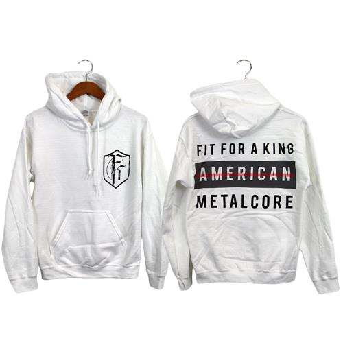 American Metalcore White *Clearance*